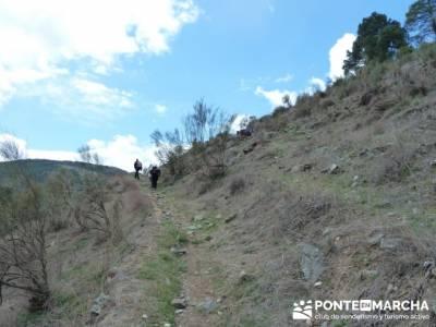 Senda Genaro - GR300 - Embalse de El Atazar - Patones de Abajo _ El Atazar; dolomitas senderismo
